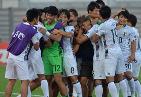 U19 Viet Nam doi dau Nhat Ban o ban ket giai chau A - Anh 1