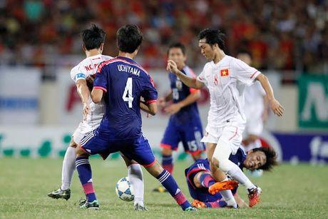 Viet Nam gap lai Nhat Ban o ban ket U19 chau A - Anh 1