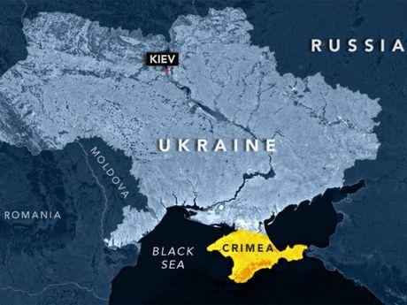 Ukraine 'noi xung' Syria vi cong nhan Crimea thuoc Nga - Anh 1