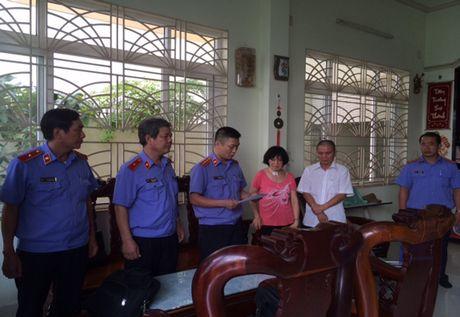 Bat tam giam Chi Cuc truong Thi hanh an dan su huyen Phong Dien - Anh 1