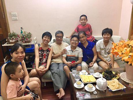 MC Thao Van va Cong Ly vui ve doan tu trong ngay sinh nhat con trai - Anh 3