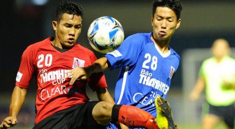 U.21 Quang Ninh 1-0 U.21 Long An: Thang nhoc nhan vi lo nhieu co hoi - Anh 1