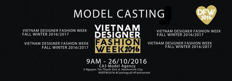 """Nhieu chan dai dinh dam se xuat hien tai buoi casting """"Vietnam Designer Fashion Week"""" mua 3 - Anh 1"""