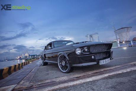 Ngam xe do khung Ford Mustang 'Eleanor' hon 500 ma luc o Sai Gon - Anh 1