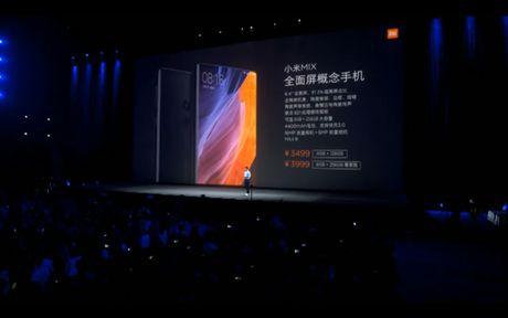 Xiaomi tung ra Mi MIX man hinh 6.4 inch tran 3 canh - Anh 14