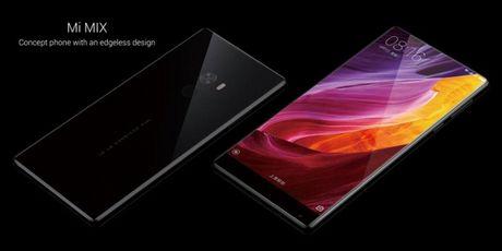 Xiaomi tung ra Mi MIX man hinh 6.4 inch tran 3 canh - Anh 1