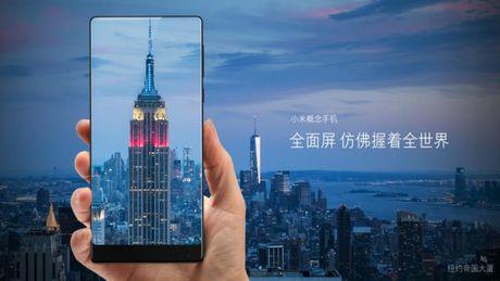 Xiaomi tung ra Mi MIX man hinh 6.4 inch tran 3 canh - Anh 3