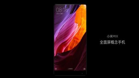 Xiaomi tung ra Mi MIX man hinh 6.4 inch tran 3 canh - Anh 5