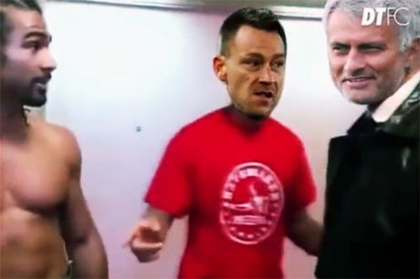 Clip che: Cac hoc tro cu khong ai them bat tay voi Mourinho - Anh 1