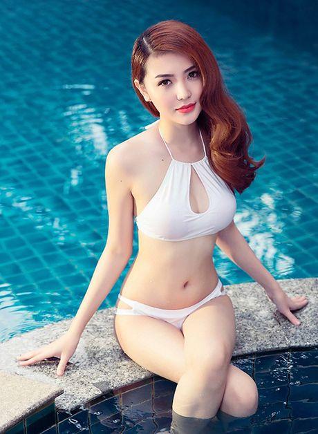 Ngam nhan sac hotgirl Viet vua dang quang Nu hoang sac dep toan cau 2016 - Anh 8