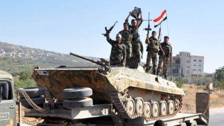 Quan doi Syria danh chiem mot so cu diem o Hama - Anh 1