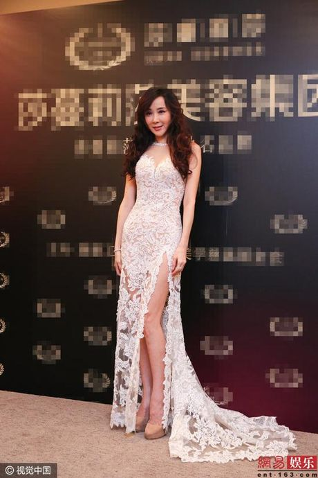 My nhan Dai loan 'dao keo hong' khoe dang dep nhu nu than - Anh 6