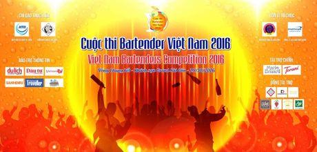 Top 20 thi sinh loat vao chung ket 'Cuoc thi Bartender Viet Nam 2016' - Anh 1