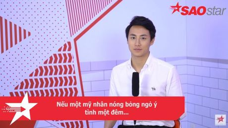 Clip: Rocker Nguyen phan ung ra sao neu duoc ngo y tinh mot dem? - Anh 3