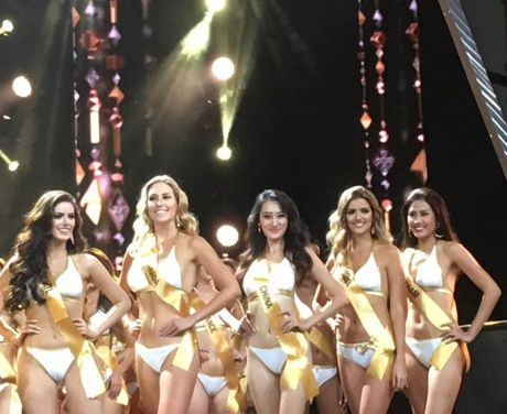 Nguyen Thi Loan va cai tron mat, lac vai gay tranh cai tai Miss Grand International 2016 - Anh 2