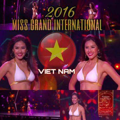 Nguyen Thi Loan va cai tron mat, lac vai gay tranh cai tai Miss Grand International 2016 - Anh 4