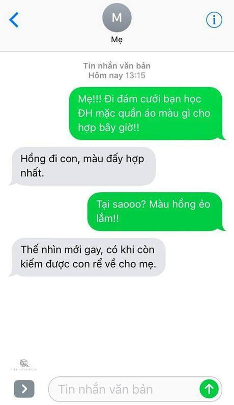 Ba me dang yeu nhat nam nhan tin khuyen con trai mac quan mau hong vi 'nhin the moi gay' - Anh 2