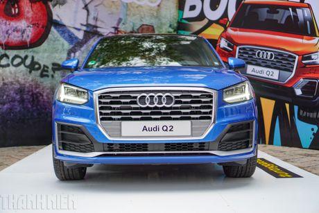 Audi Q2, SUV do thi cho gioi tre chinh thuc ve Viet Nam - Anh 1