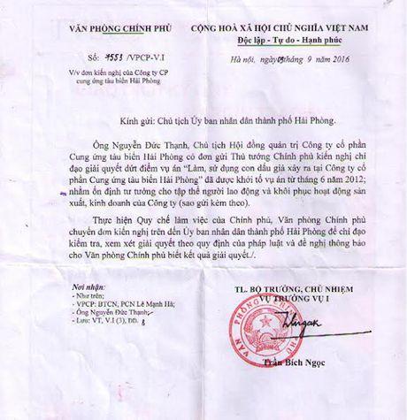 Thanh pho Hai Phong chuan bi bao cao Van phong Chinh phu - Anh 1