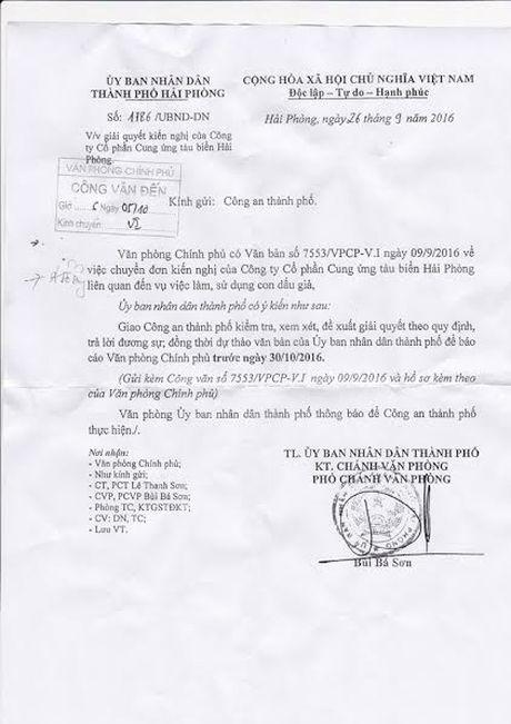 Thanh pho Hai Phong chuan bi bao cao Van phong Chinh phu - Anh 2