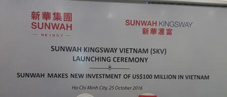 Sunwah Group (Hong Kong) rot them 100 trieu USD vao thi truong Viet Nam - Anh 2