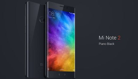 Xiaomi Mi Note 2 chinh thuc xuat hien: Ban sao cua Note 7 - Anh 1