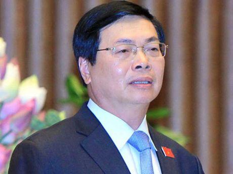 Cuu Bo truong Vu Huy Hoang co nhieu vi pham - Anh 1