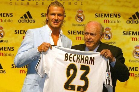 Beckham phu nhan lien he voi Real Madrid - Anh 2