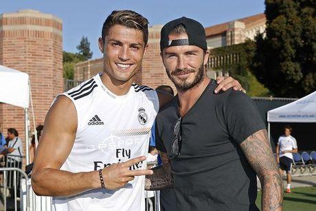 Beckham phu nhan lien he voi Real Madrid - Anh 3