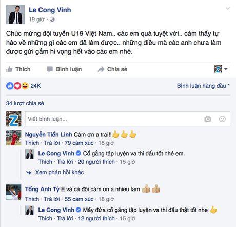 HLV Calisto va Cong Vinh tu hao ve U19 Viet Nam - Anh 1