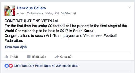 HLV Calisto va Cong Vinh tu hao ve U19 Viet Nam - Anh 2