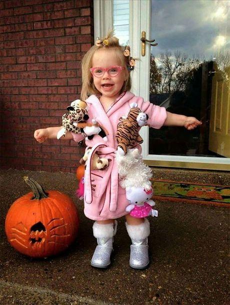 Le Halloween: Nhung man hoa trang dang yeu nhat - Anh 5
