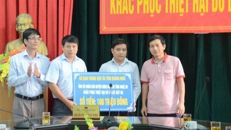 Nghe An: Khong khoi cong du an, danh 120 trieu ung ho lu lut - Anh 3