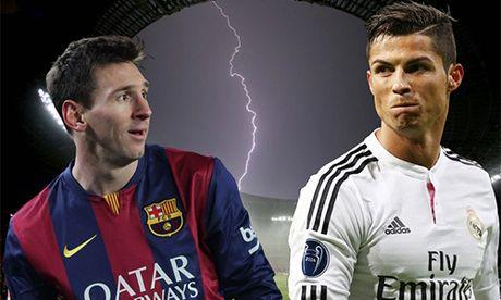 Ronaldo, Messi dan dau danh sach ung vien Qua Bong Vang - Anh 1