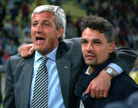 Roberto Baggio - Marcello Lippi: Moi thu kinh dien giua hai thien tai bong da Y - Anh 3