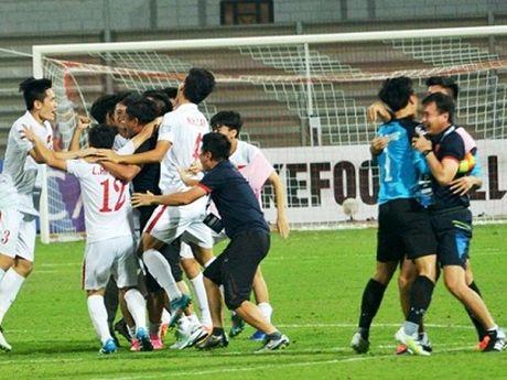 U19 Viet Nam va lan dau tien trong lich su - Anh 1