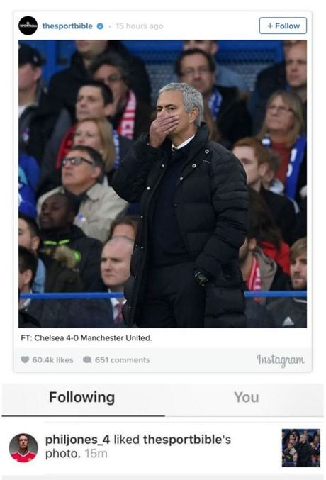 Ro tin don Phil Jones co hanh dong 'phan' Jose Mourinho - Anh 1