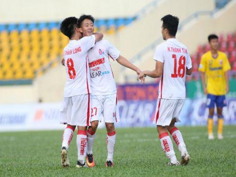 Dan em Cong Phuong da biet thang tai VCK U21 - Anh 1