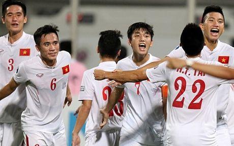 Ket qua bong da hom nay 25/10: U19 Viet Nam cham tran U19 Nhat Ban - Anh 1