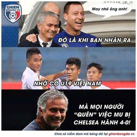 Biem hoa 24h: U19 Viet Nam 'giai cuu' Jose Mourinho - Anh 1