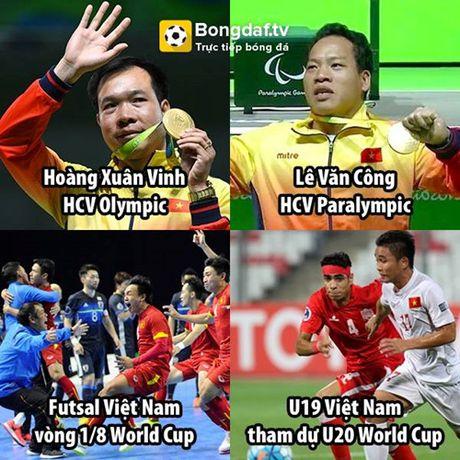Biem hoa 24h: U19 Viet Nam 'giai cuu' Jose Mourinho - Anh 3