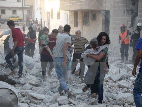 Nga va Syria san sang dung khong kich de ho tro cuu tro nhan dao - Anh 1