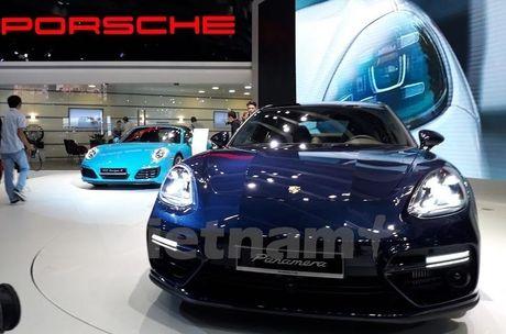 Porsche gioi thieu nhieu xe moi o Trien lam oto quoc te Viet Nam - Anh 2