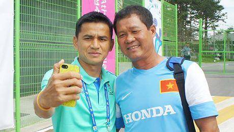 HLV Kiatisak lo lang, yeu cau cung cap bang hinh U19 Viet Nam - Anh 1