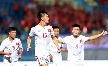 BLV Quang Huy mach nuoc giup U19 Viet Nam 'tra no' U19 Nhat Ban - Anh 1