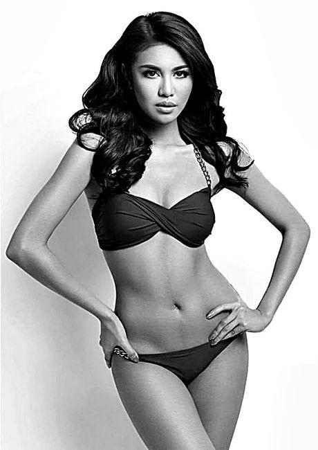 Anh bikini 'bong ruc' cua tan Hoa hau Hoa binh Ariska Putri Pertiwi - Anh 4