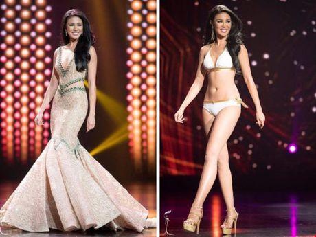 Anh bikini 'bong ruc' cua tan Hoa hau Hoa binh Ariska Putri Pertiwi - Anh 8