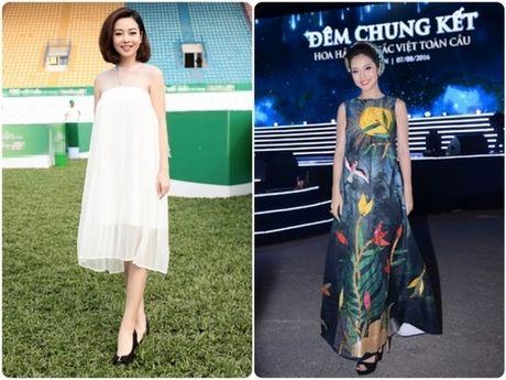 Choang voi mat moc cua Jennifer Pham khi mang bau lan 3 - Anh 13
