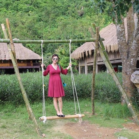 Choang voi mat moc cua Jennifer Pham khi mang bau lan 3 - Anh 2