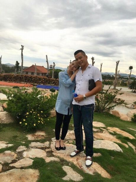 Choang voi mat moc cua Jennifer Pham khi mang bau lan 3 - Anh 3